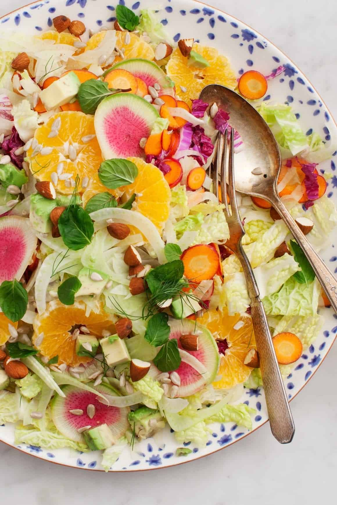 Citrus Napa Cabbage Salad