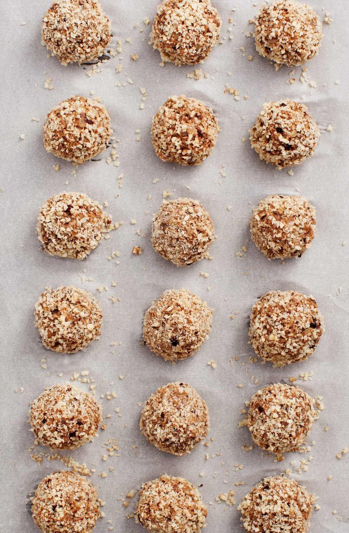 Vegetarian Mushroom Meatball Subs Recipe Love And Lemons