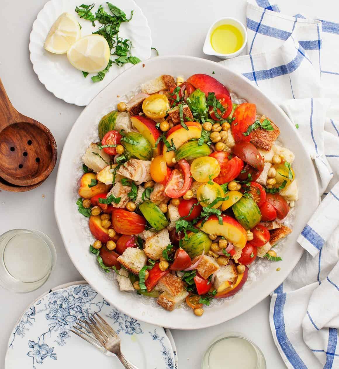 Panzanella Salad Recipe   Love and Lemons