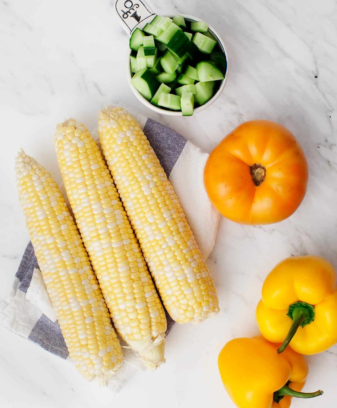 Sweet Corn Gazpacho