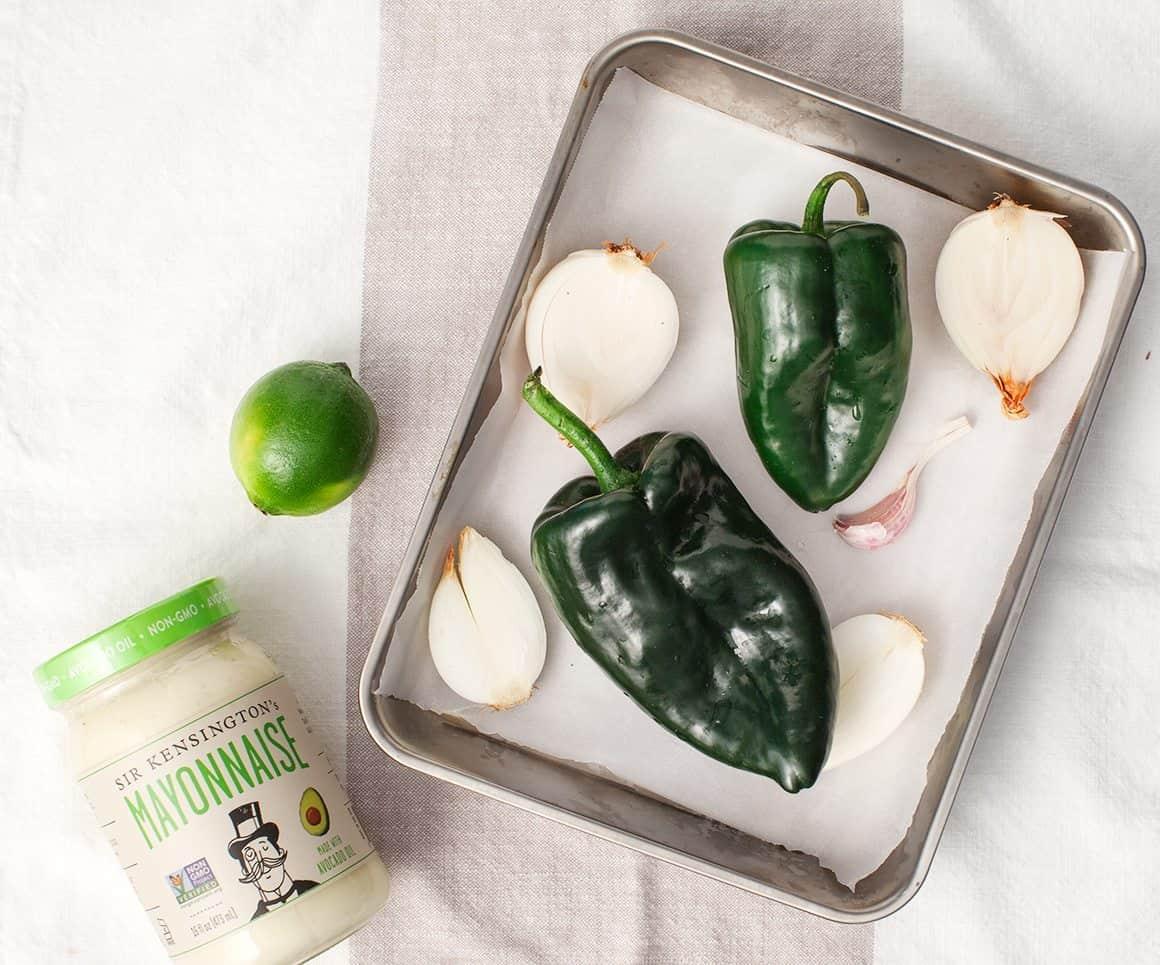 Butternut squash taco recipe ingredients