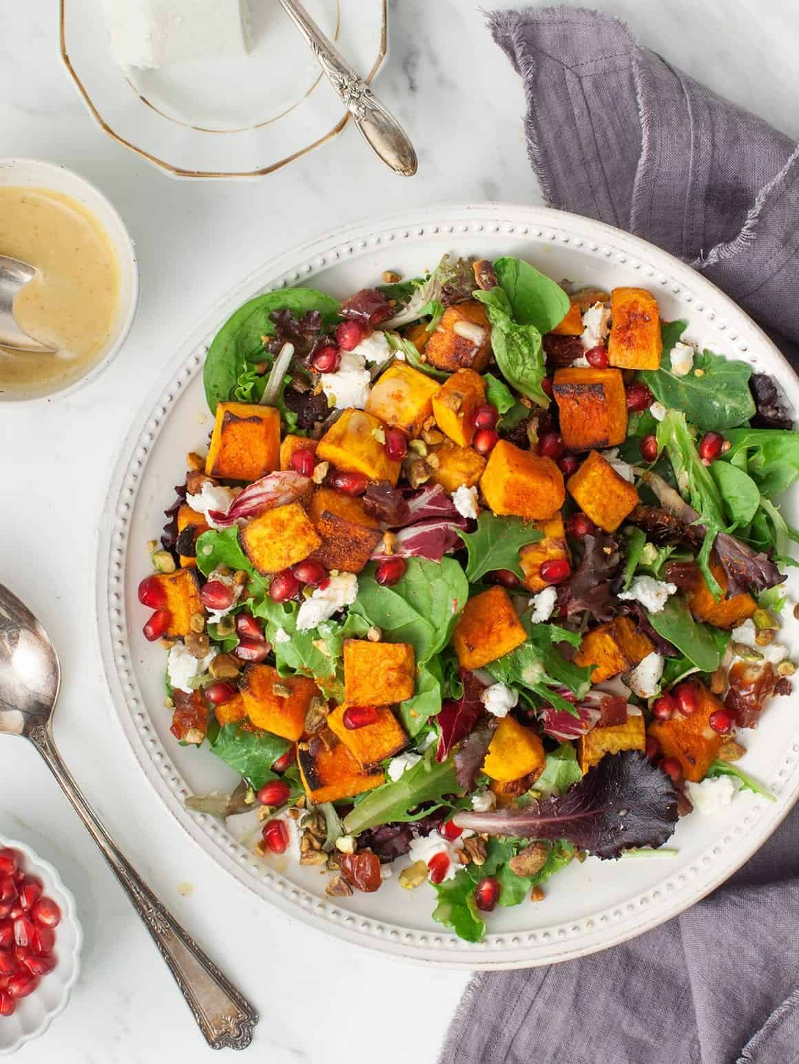 A Spiced-Up Fall Squash Salad