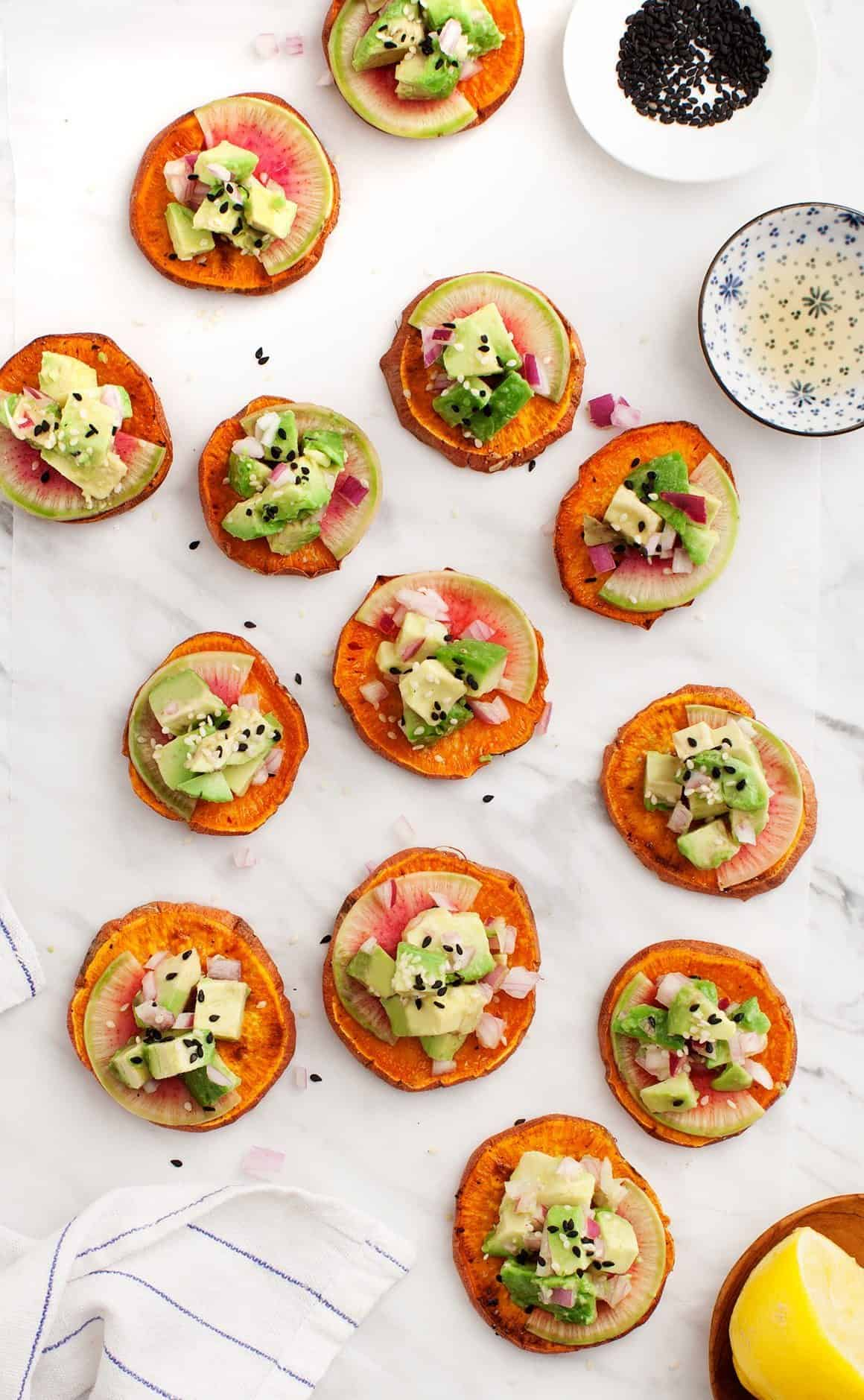 Sweet Potato Avocado Tartare