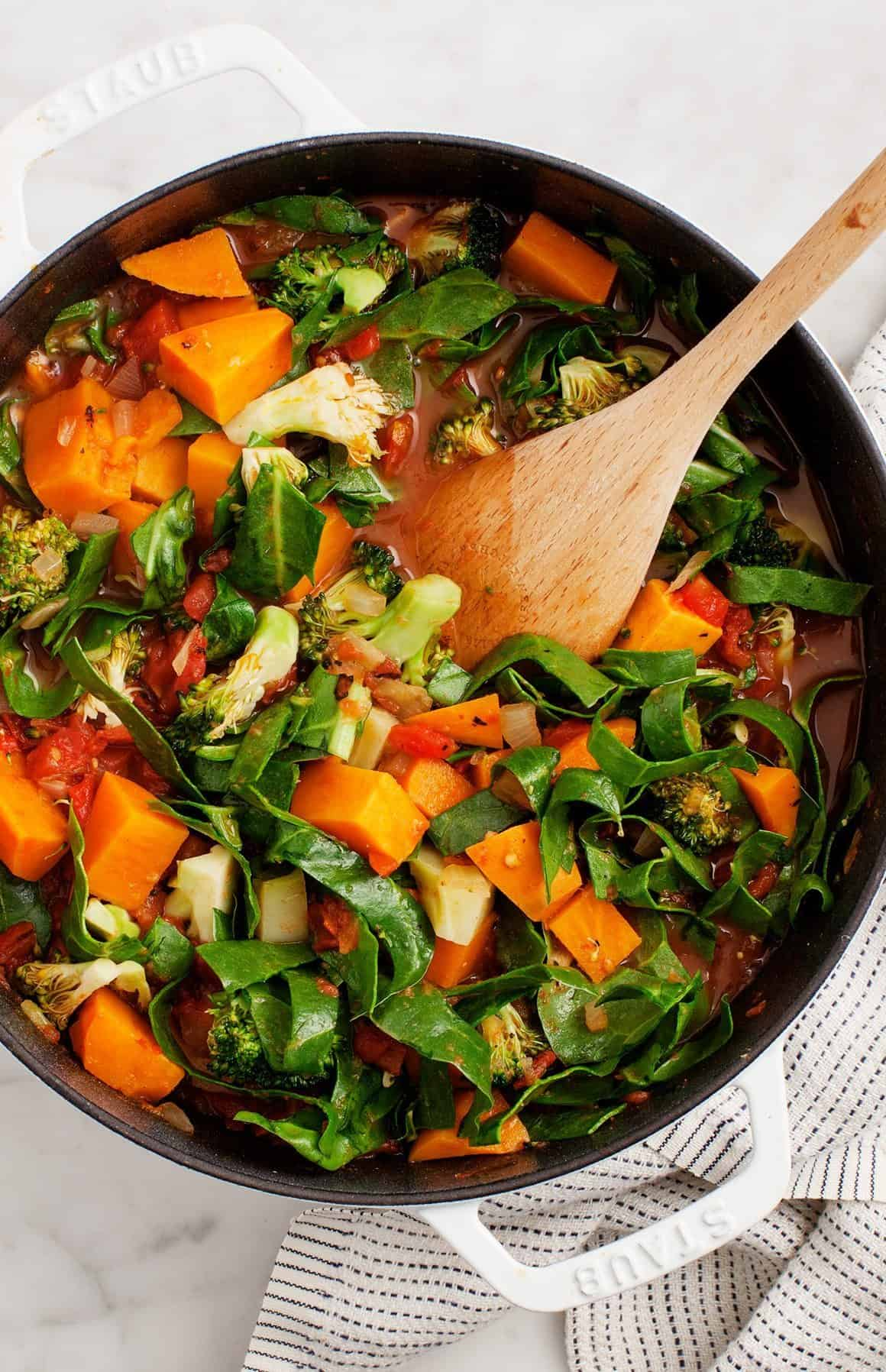 Sustenance Sweet Potato Stew