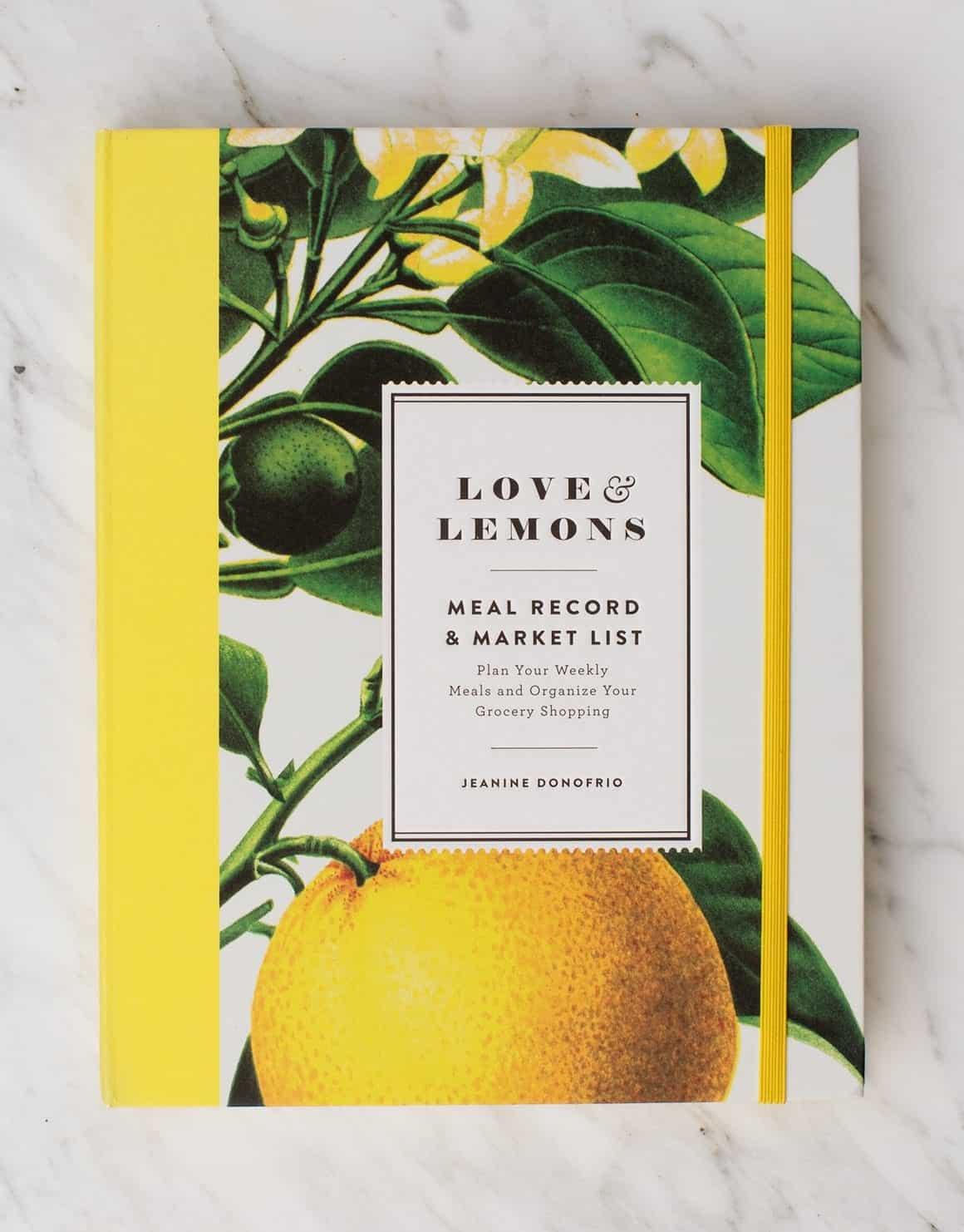 The Love & Lemons Meal Record & Market List