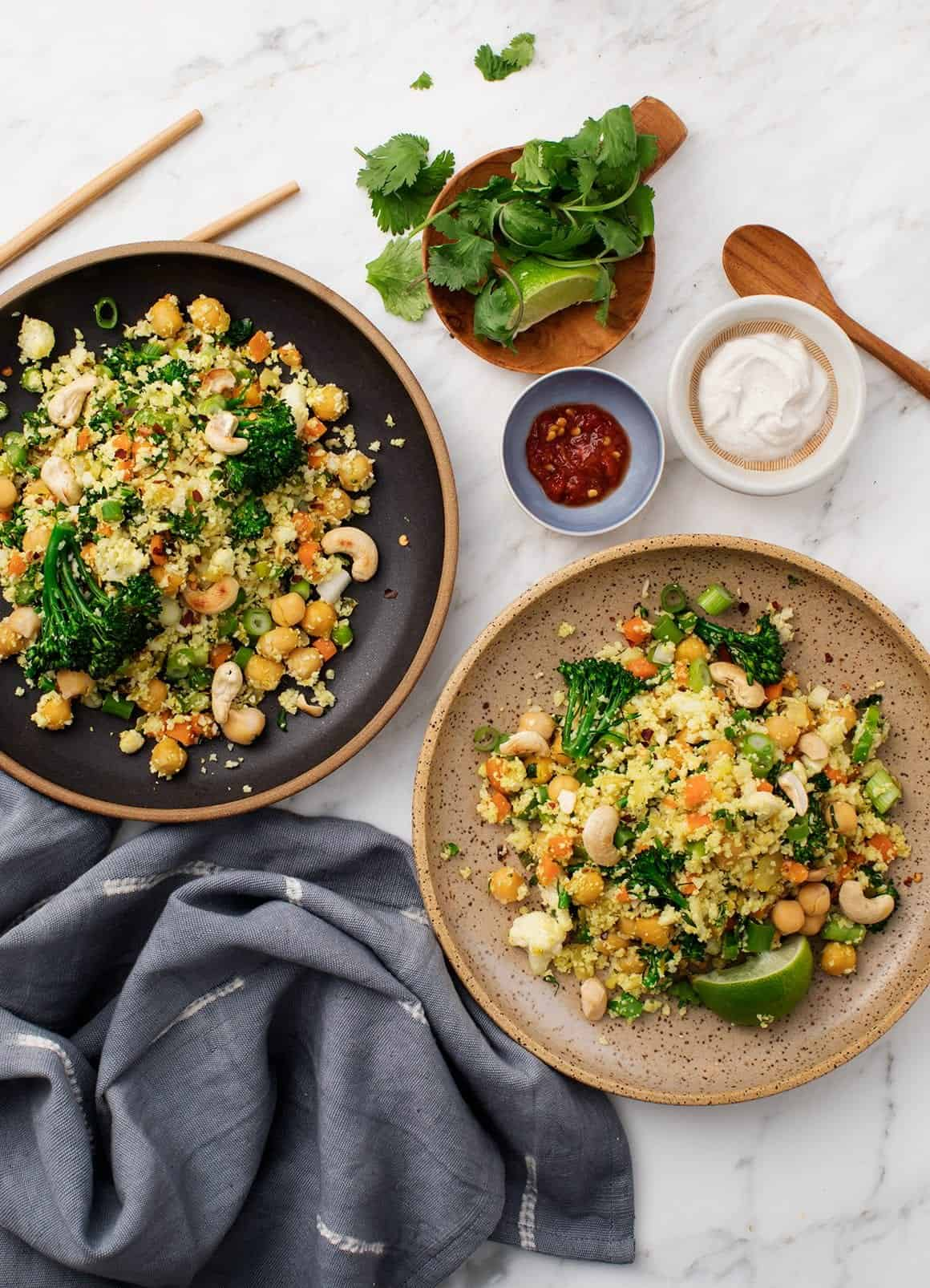 Turmeric Cauliflower Fried Rice