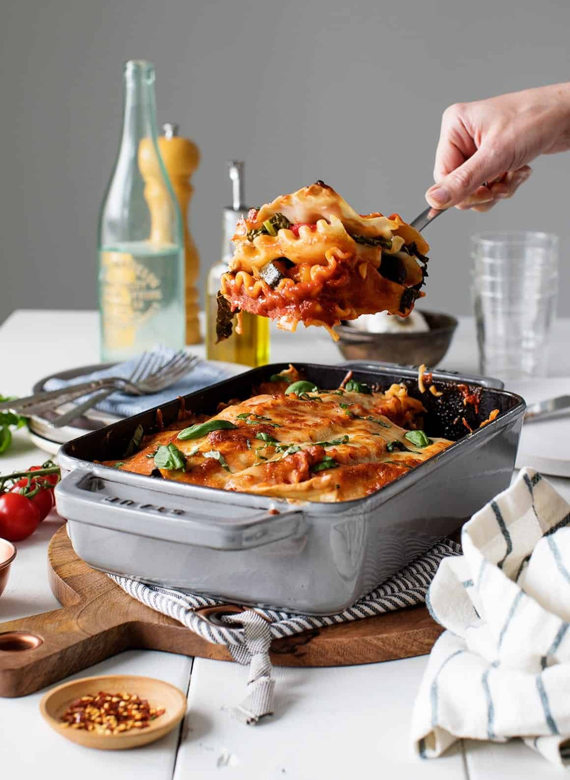 Best Vegetarian Lasagna Recipe Love And Lemons