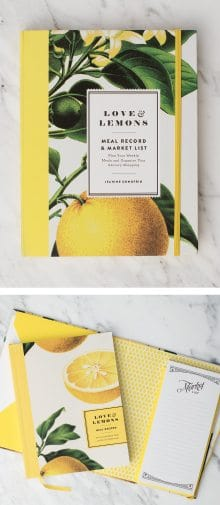 Love and Lemons Meal Planner and Market List