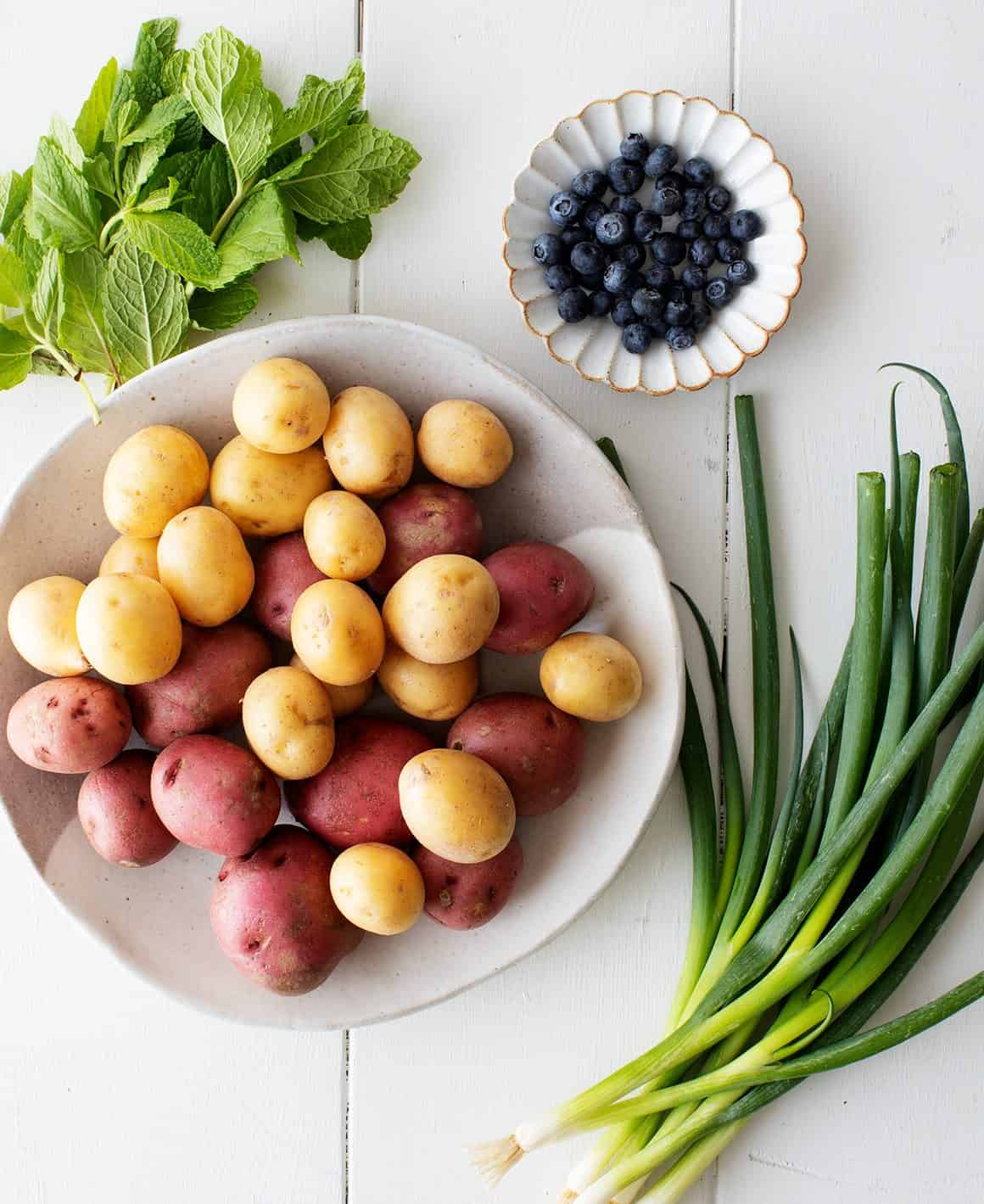 Potato salad recipe ingredients