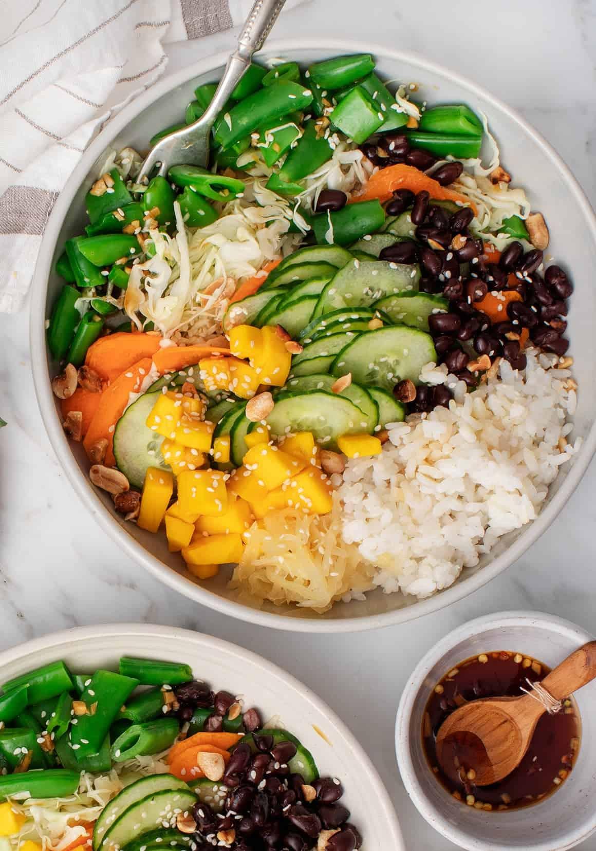 Mango Ginger Rice Bowl