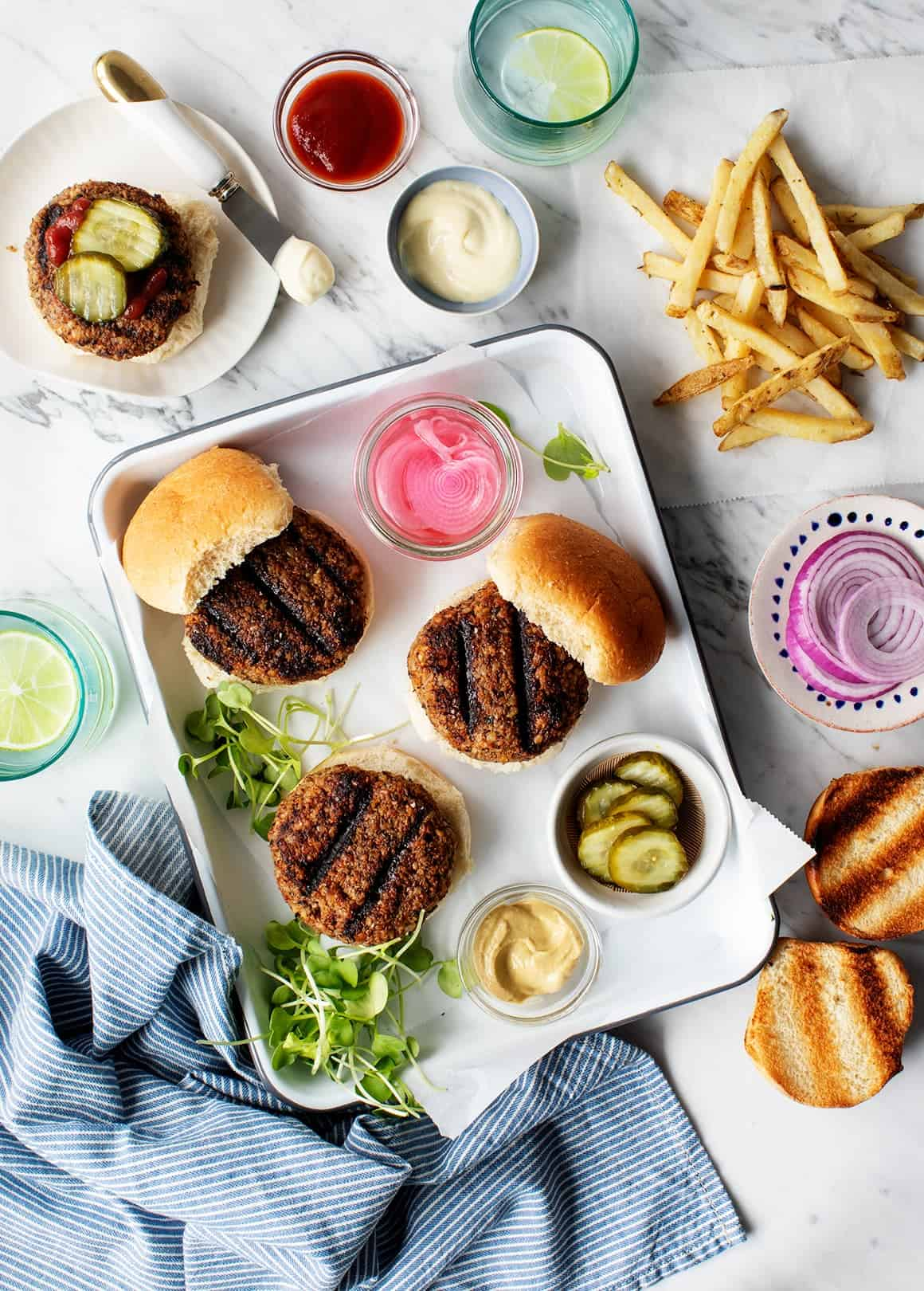 Best Darn Veggie Burgers (Vegan & Grillable)