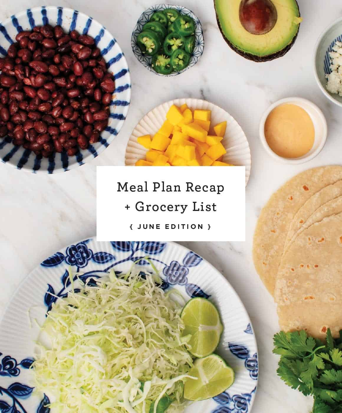 Meal Plan Archives Love And Lemons