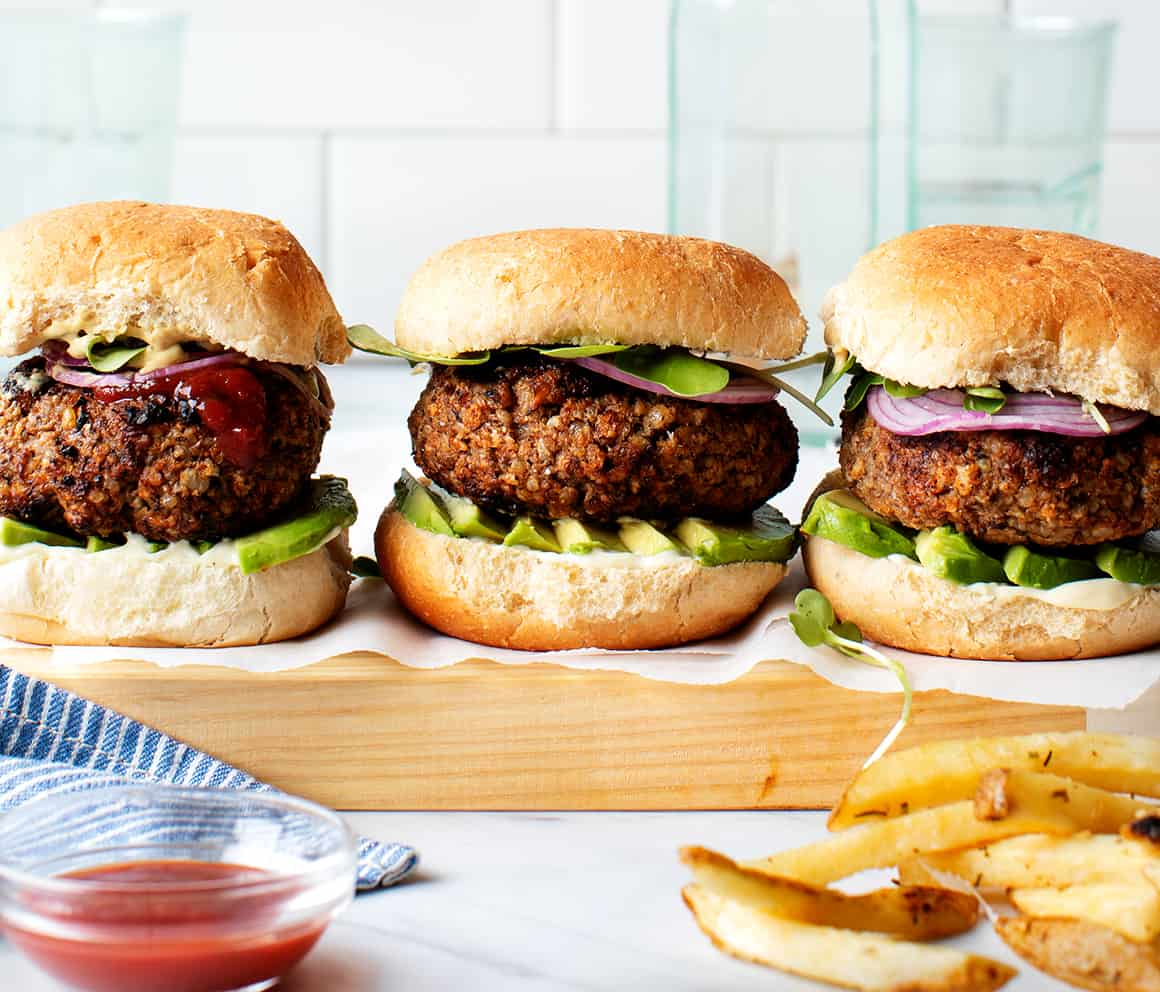 Best Veggie Burger Recipe Love And Lemons