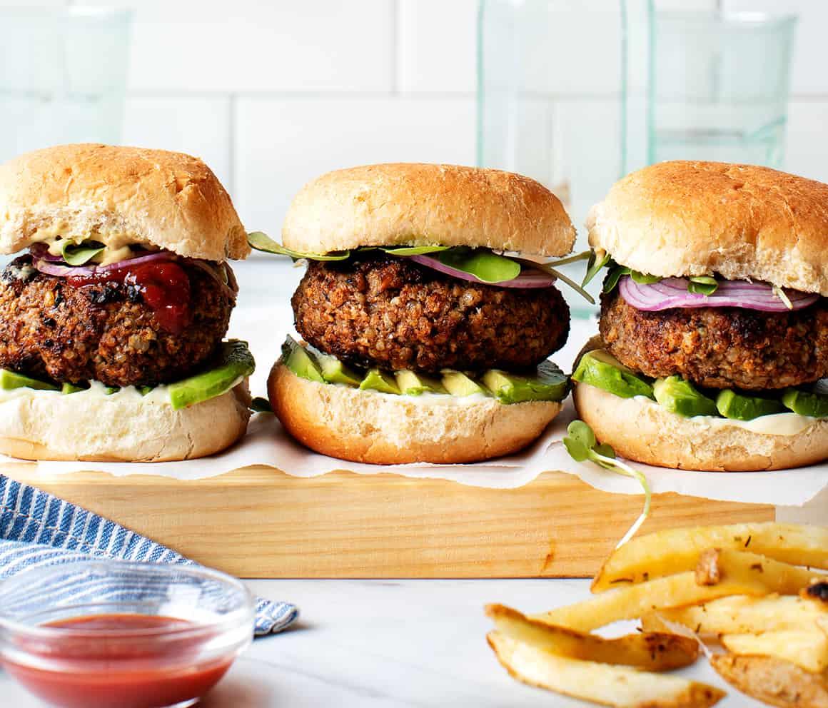 Best Veggie Burger Recipe Love And Lemons