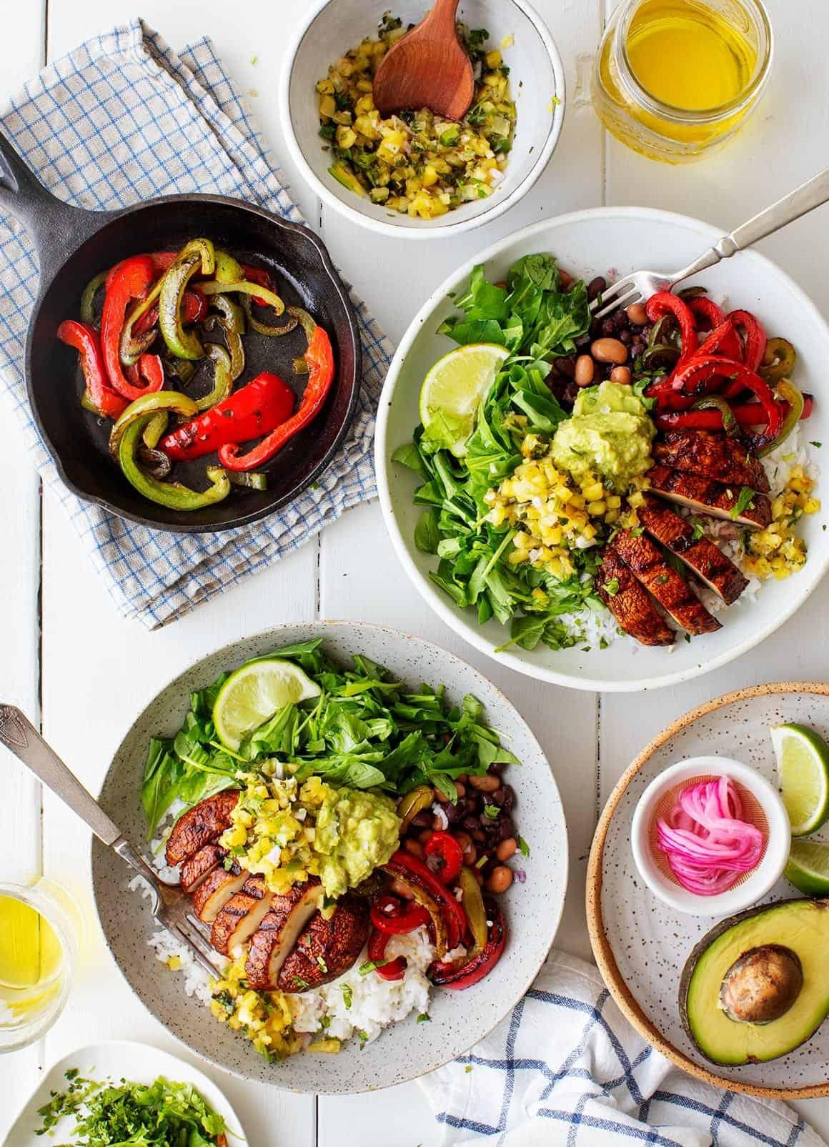 Vegan Burrito Bowl Recipe Love And Lemons
