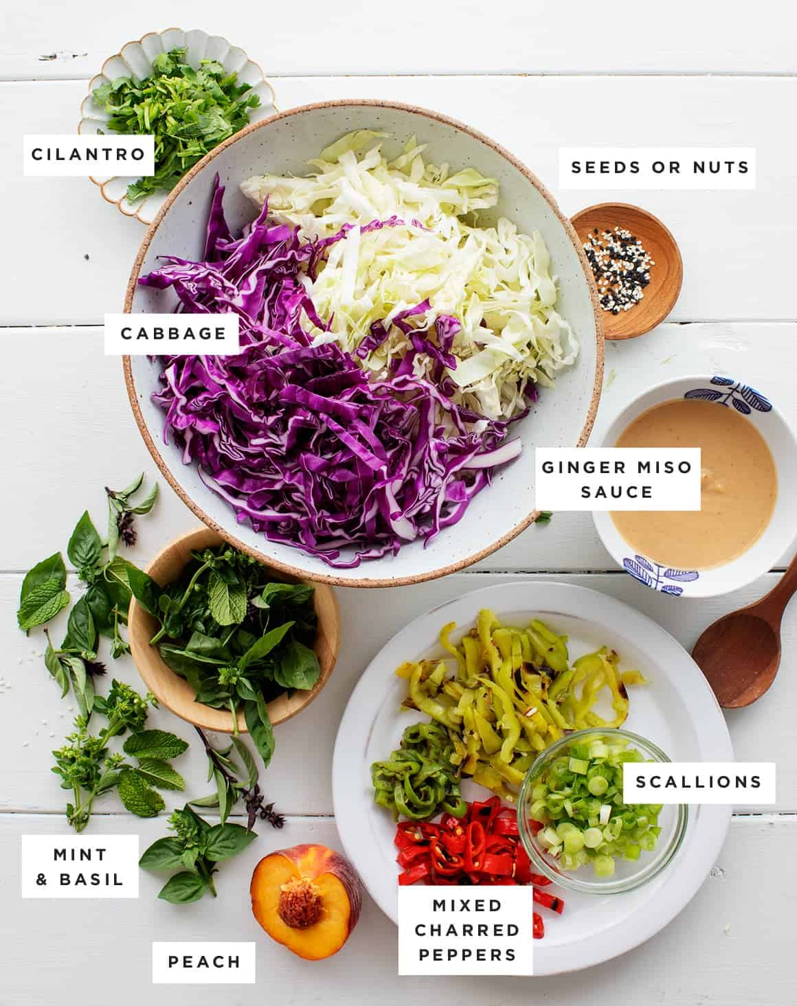 Asian Slaw Recipe Love And Lemons