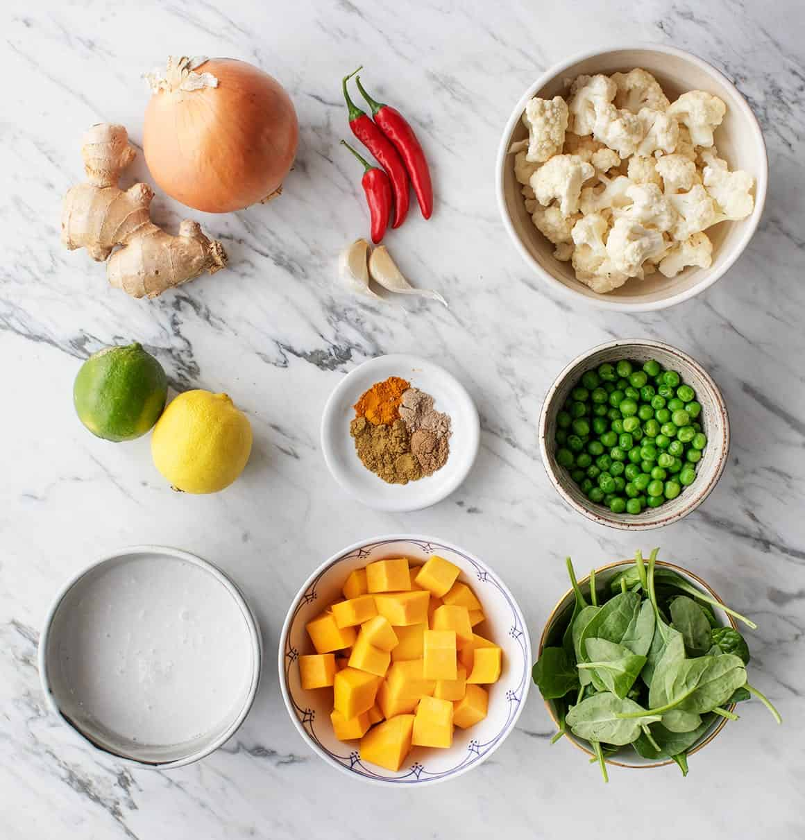 Vegetable Curry recipe ingredients