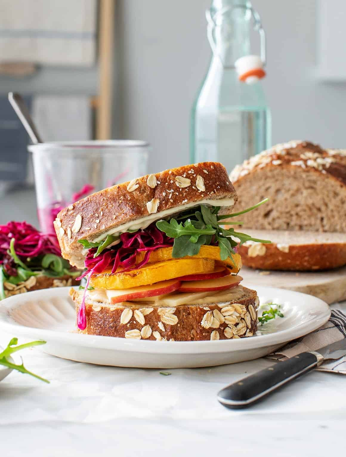 Butternut Apple Cranberry Sandwich