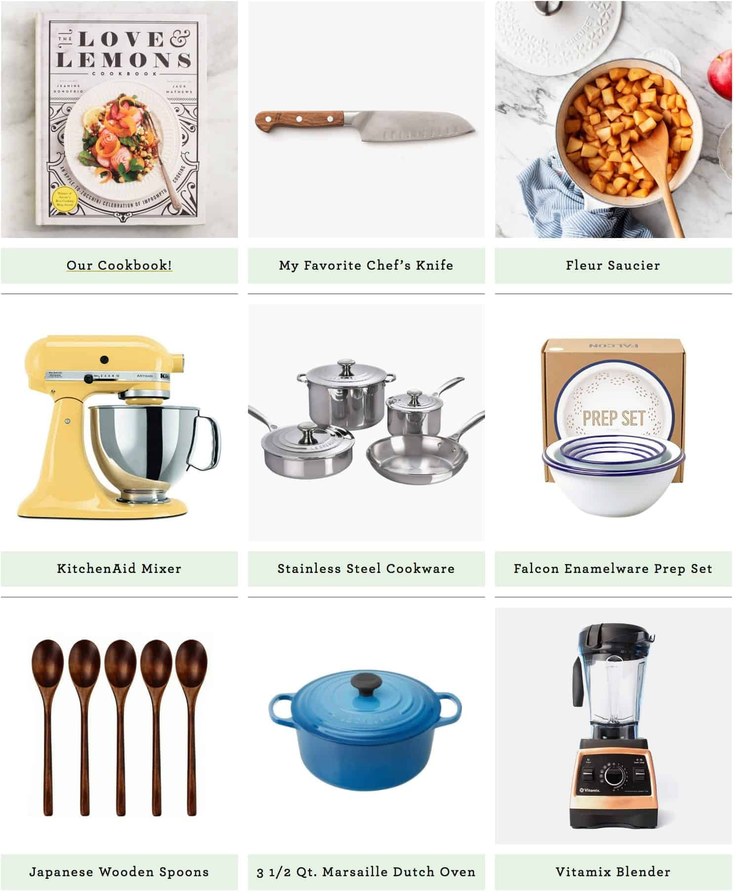 Kitchen Gift Guide + Our (New!) Shop Section