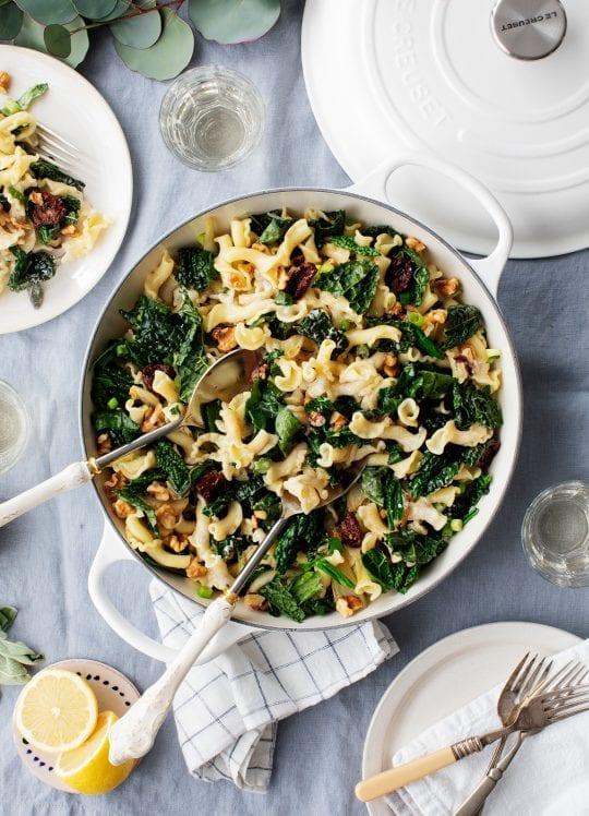 Winter Fennel, Sage & Kale Pasta