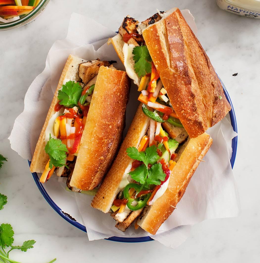 Banh Mi Sandwich Recipe Love And Lemons