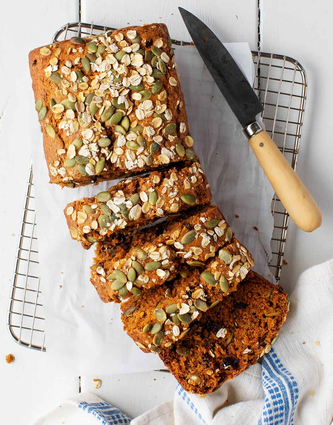 Morning Glory Carrot Loaf