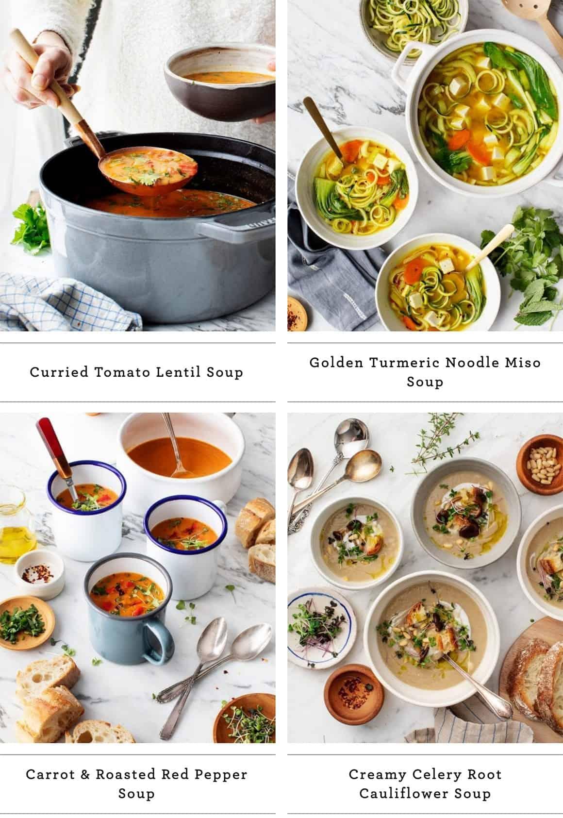 20 Favorite Soup Recipes