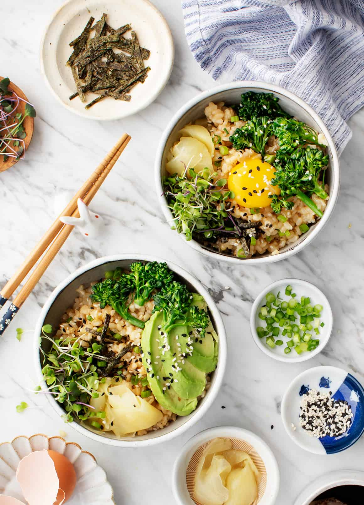 Avocado & Egg Brown Rice Bowl