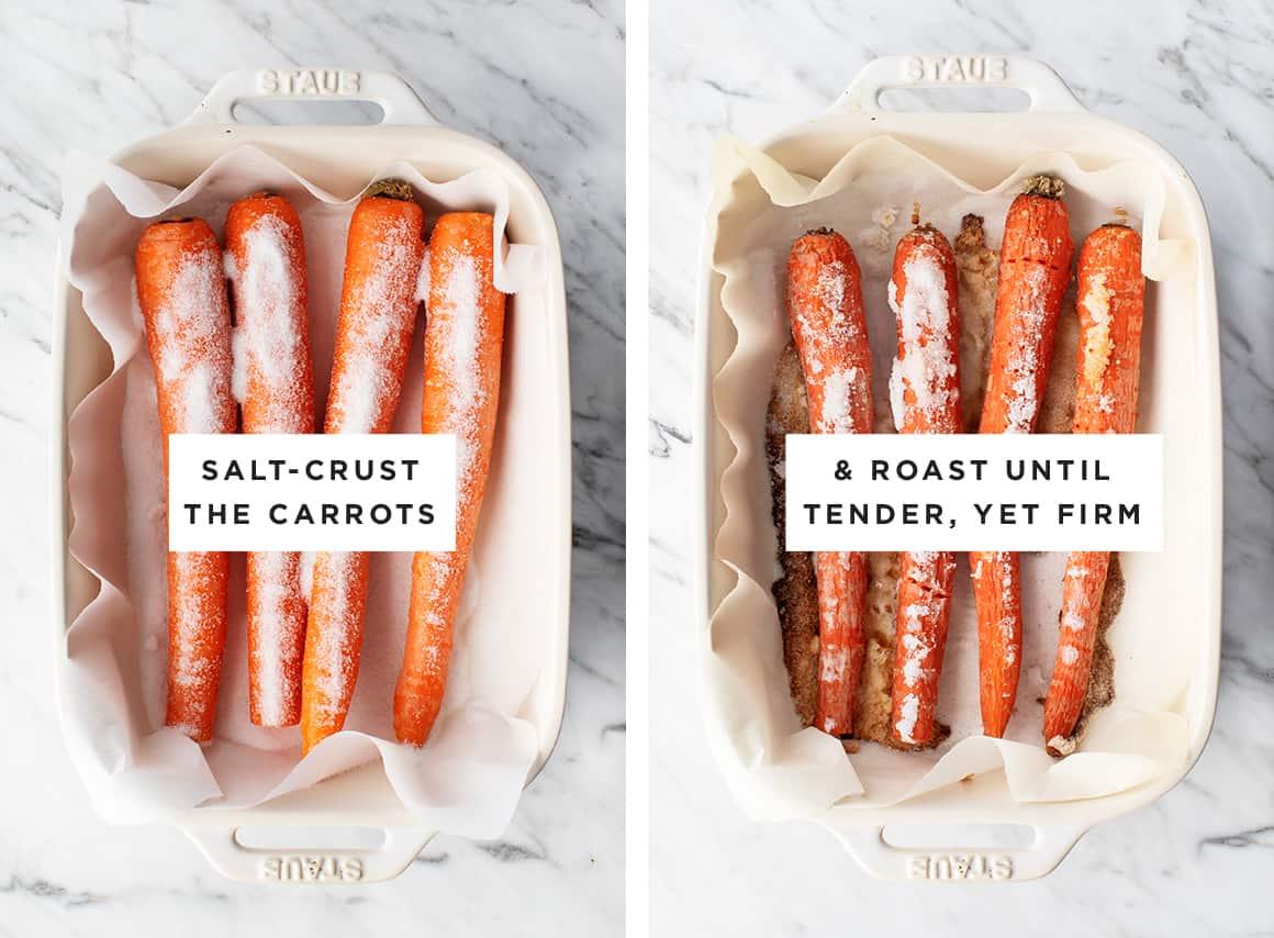 Carrot Smørrebrød Crisps