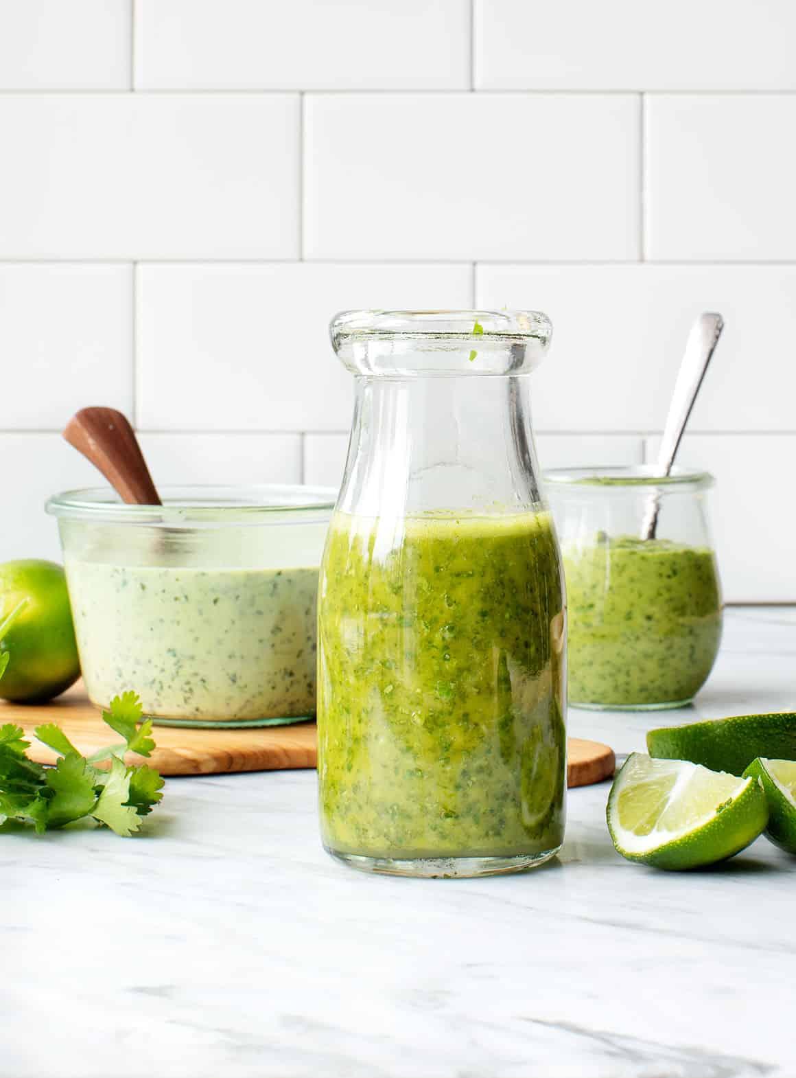 Avocado Lime Salad Dressing Recipe