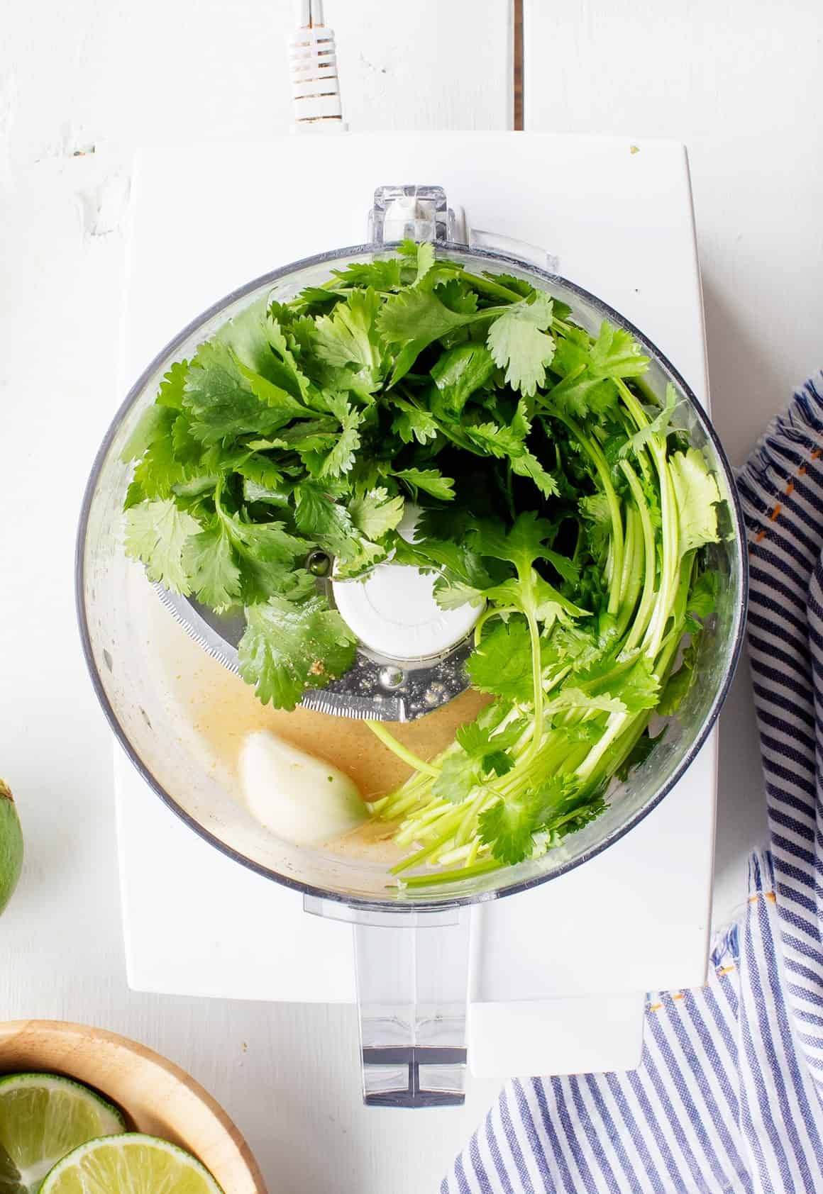 Cilantro lime salad dressing