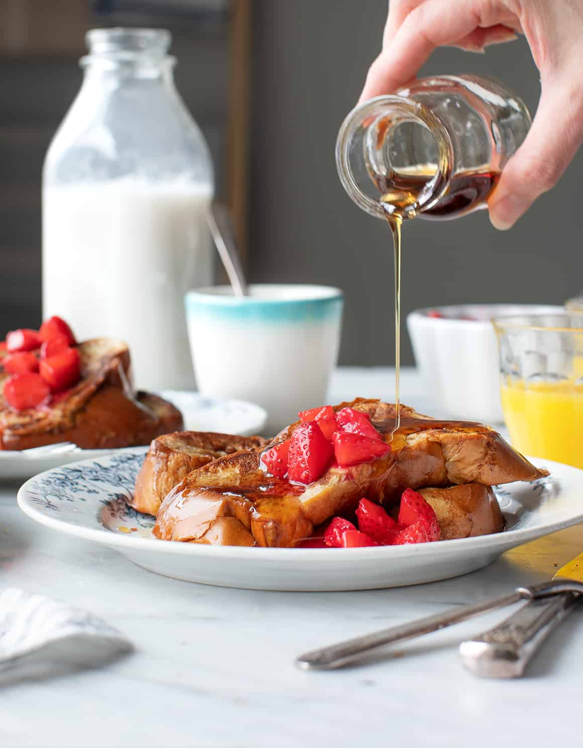 Classic French Toast Recipe on a plate