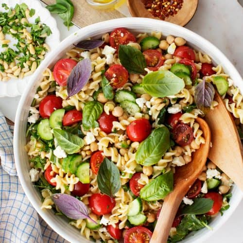 Easy Pasta Salad Recipe Love And Lemons