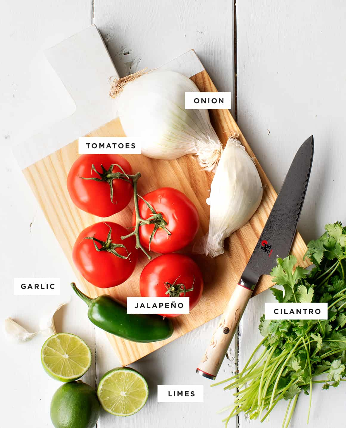 Pico de gallo recipe ingredients
