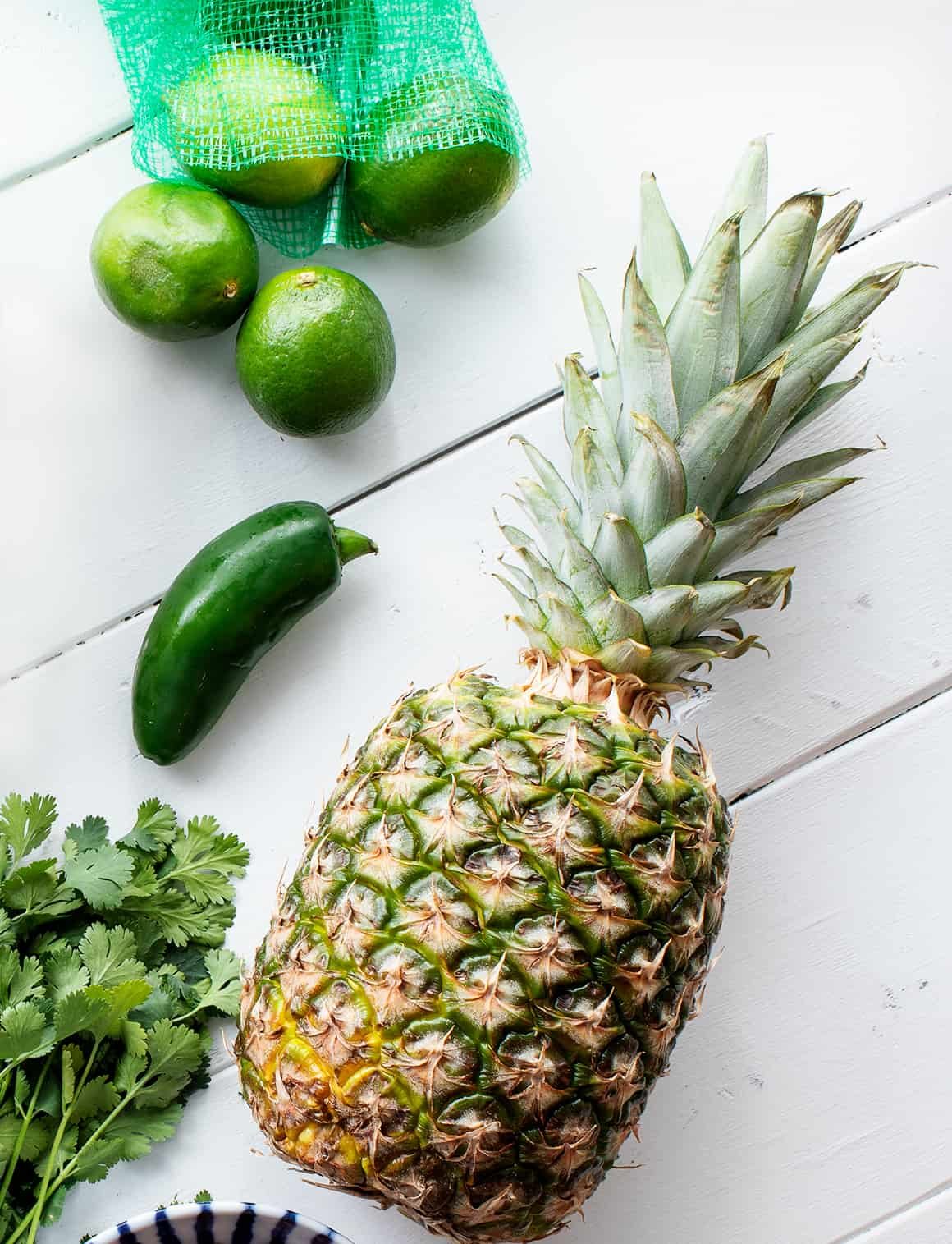 Pineapple Salsa Recipe Ingredients