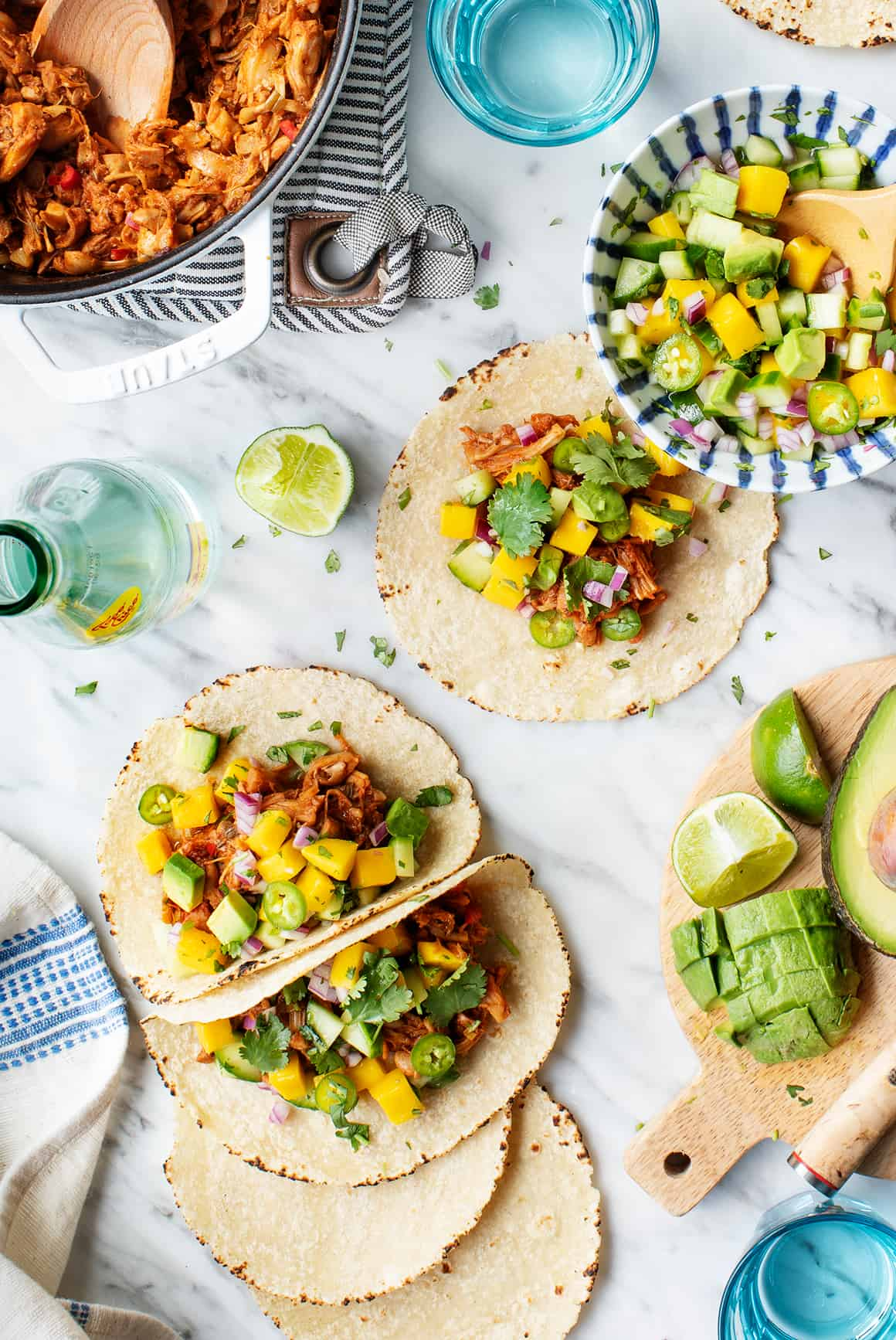 Jerk Vegan Tacos