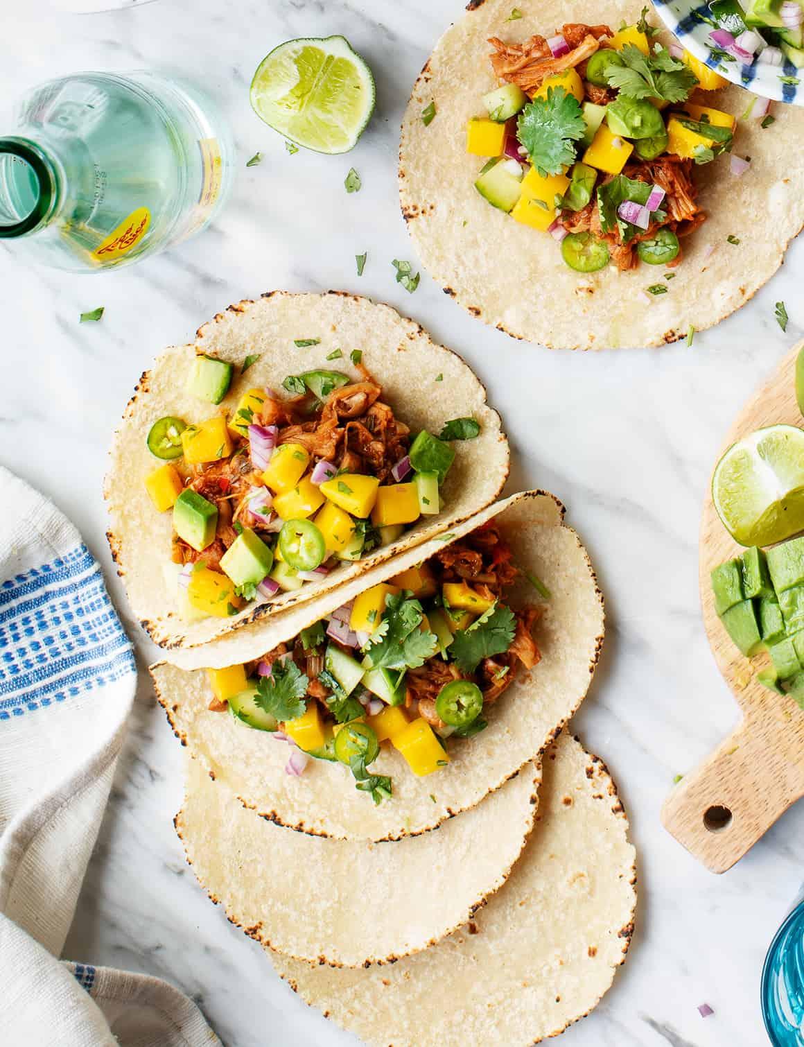 Jamaican Jerk Vegan Tacos