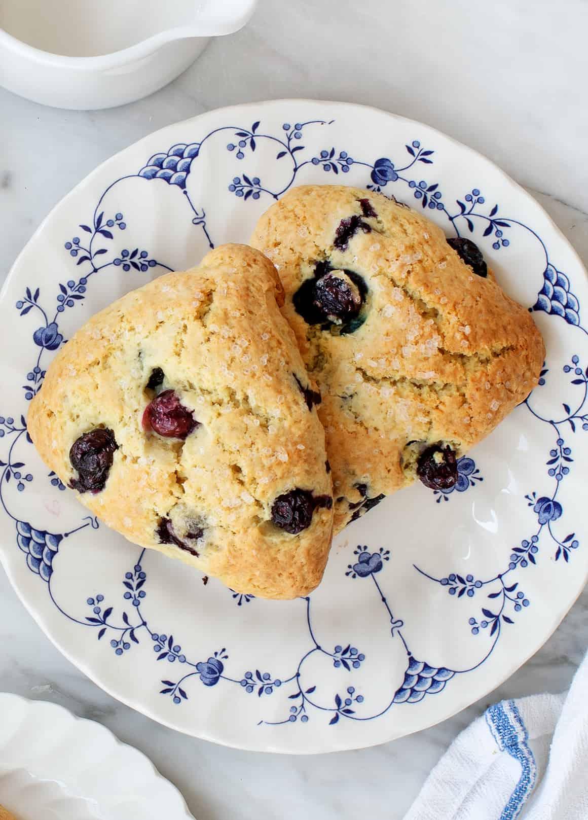 Blueberry Scones Recipe Love And Lemons