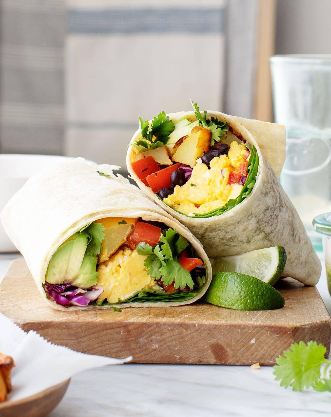 Best Breakfast Burrito Recipe Love And Lemons