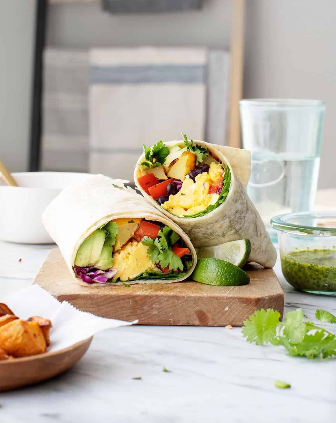 Healthy Breakfast Burrito ~ Love And Lemons