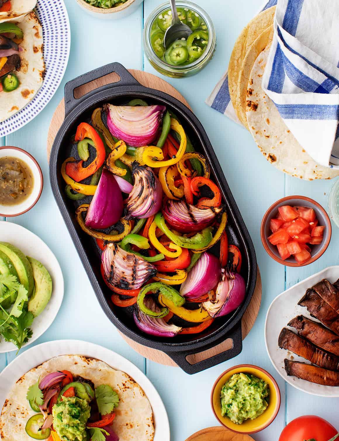 Fajita Veggies Recipe Love And Lemons