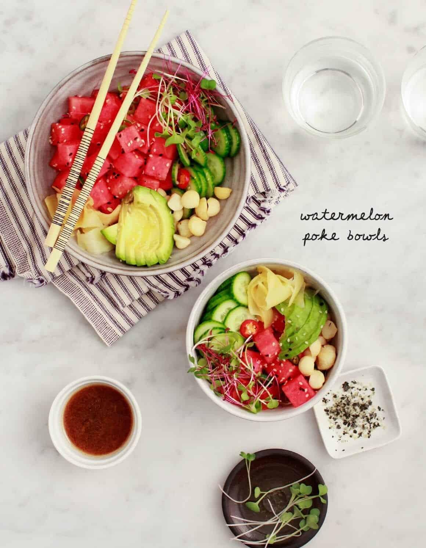 Watermelon summer salad recipes