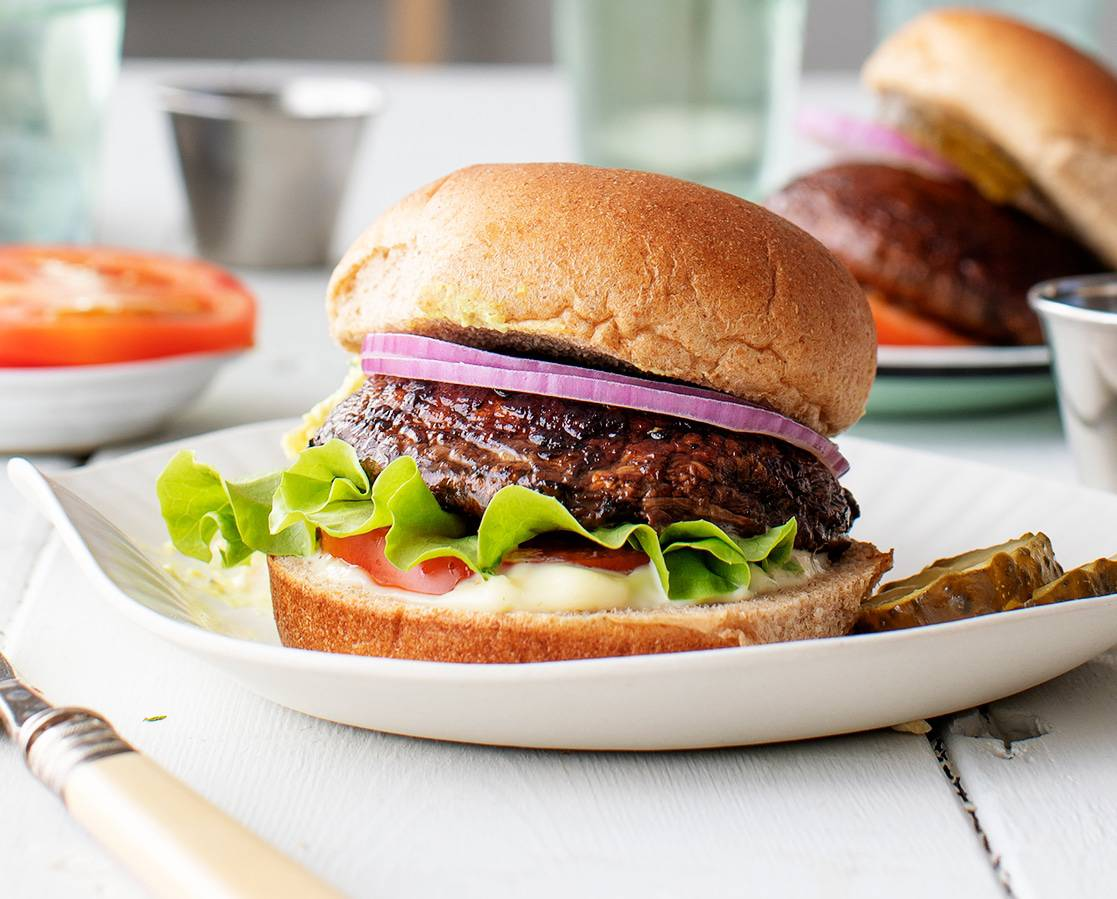 Portobello Mushroom Burger Recipe Love And Lemons