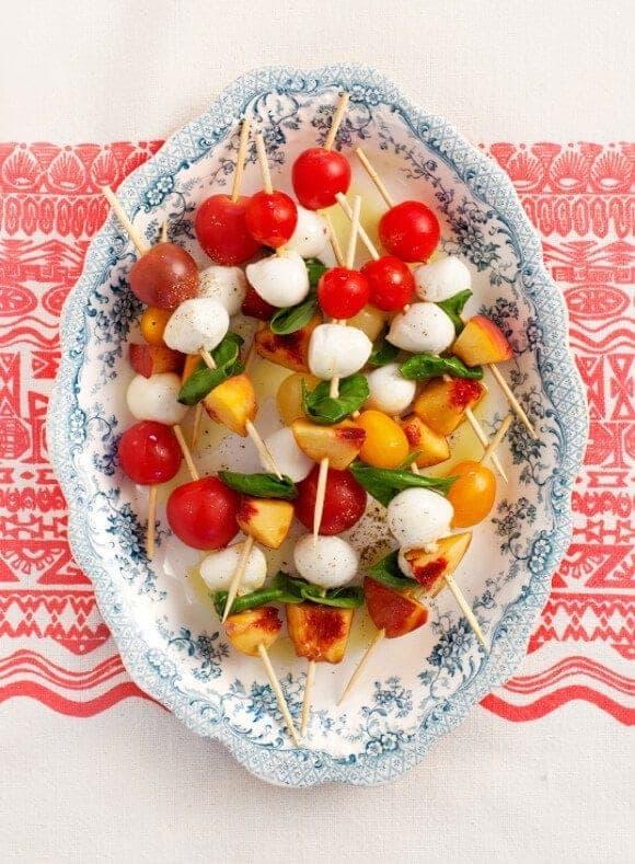 Appetizer basil recipes