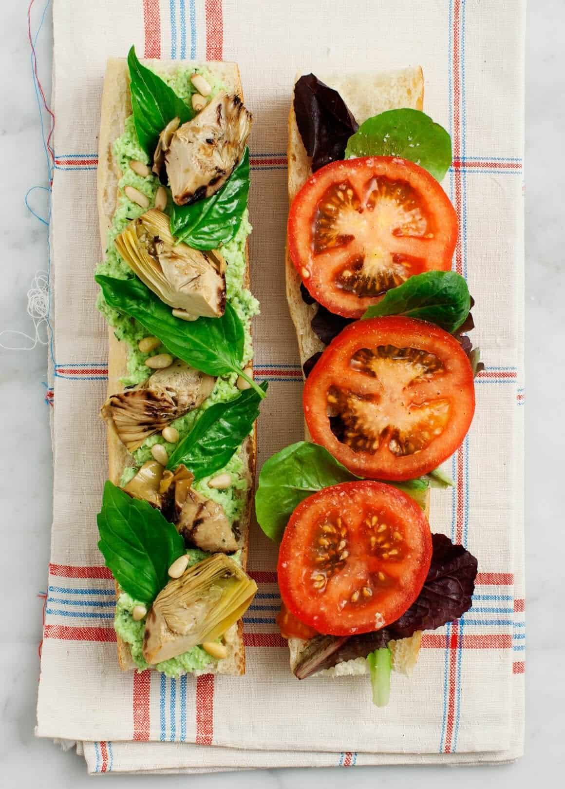 Basil sandwich recipes