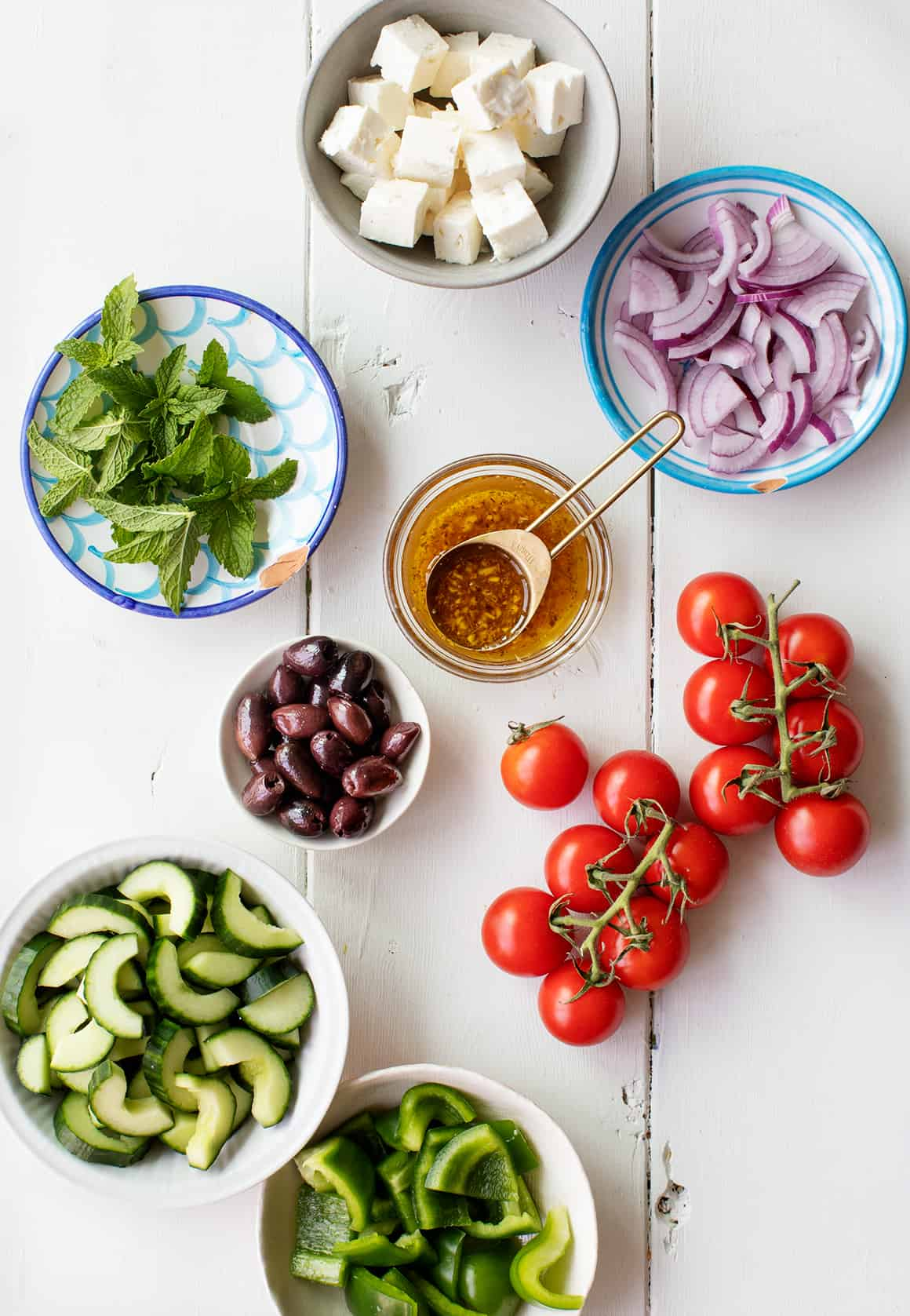 Greek Salad Recipe Love And Lemons