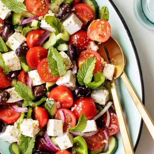 Greek Salad Recipe Classic