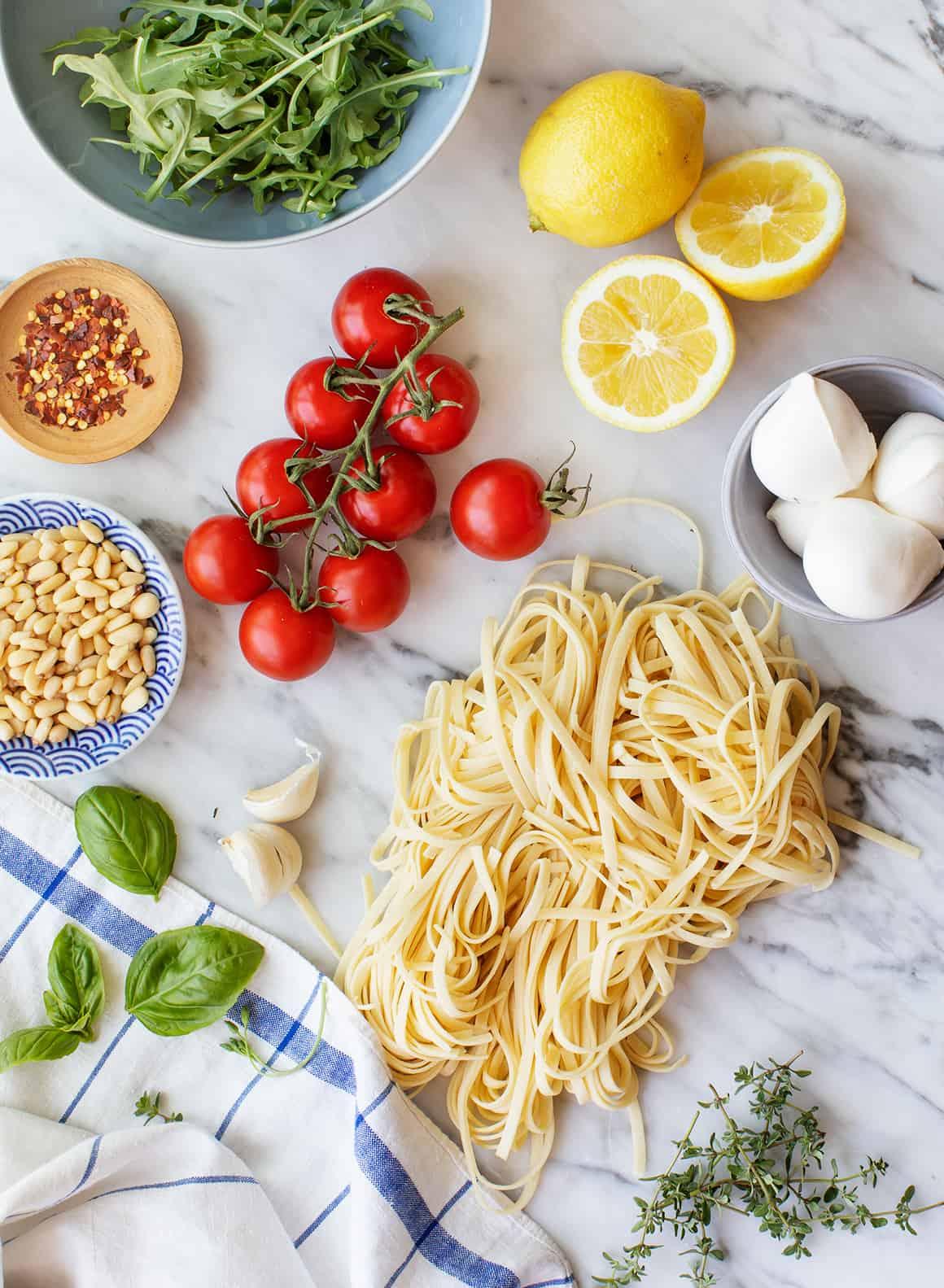 Linguine Recipe Ingredients