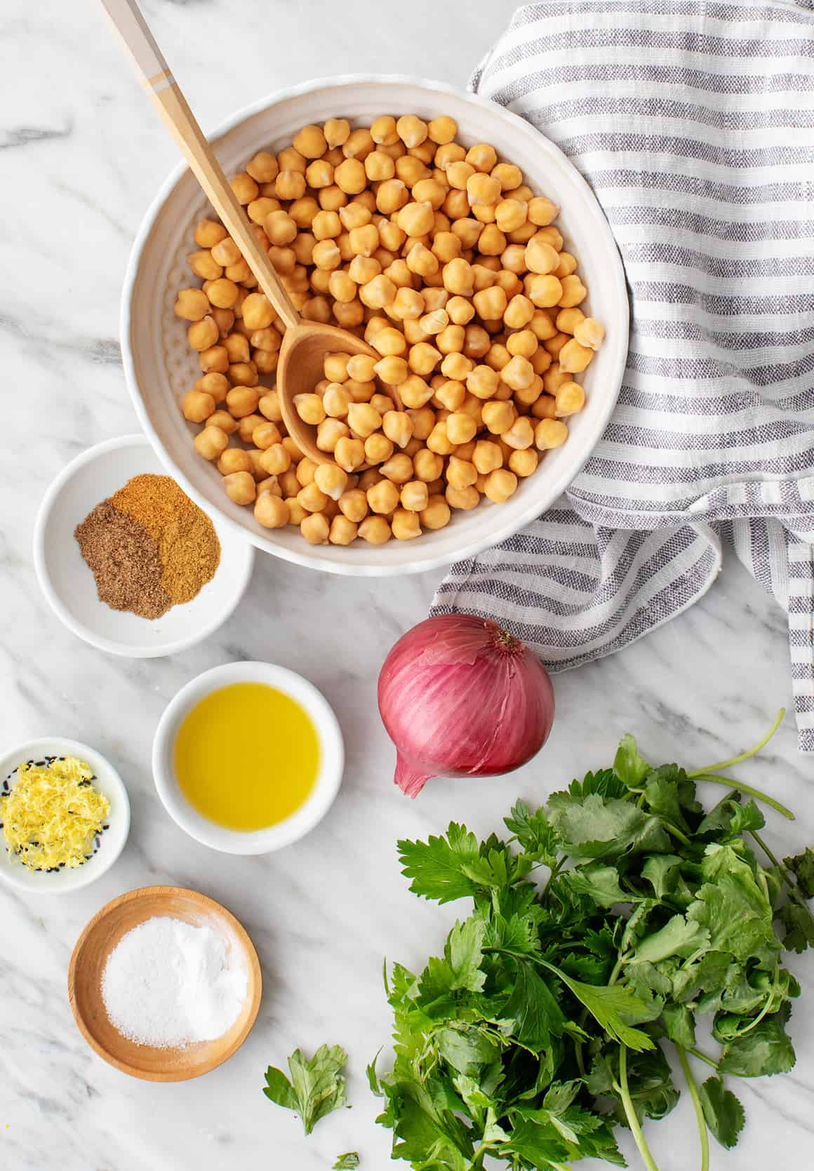Falafel recipe ingredients