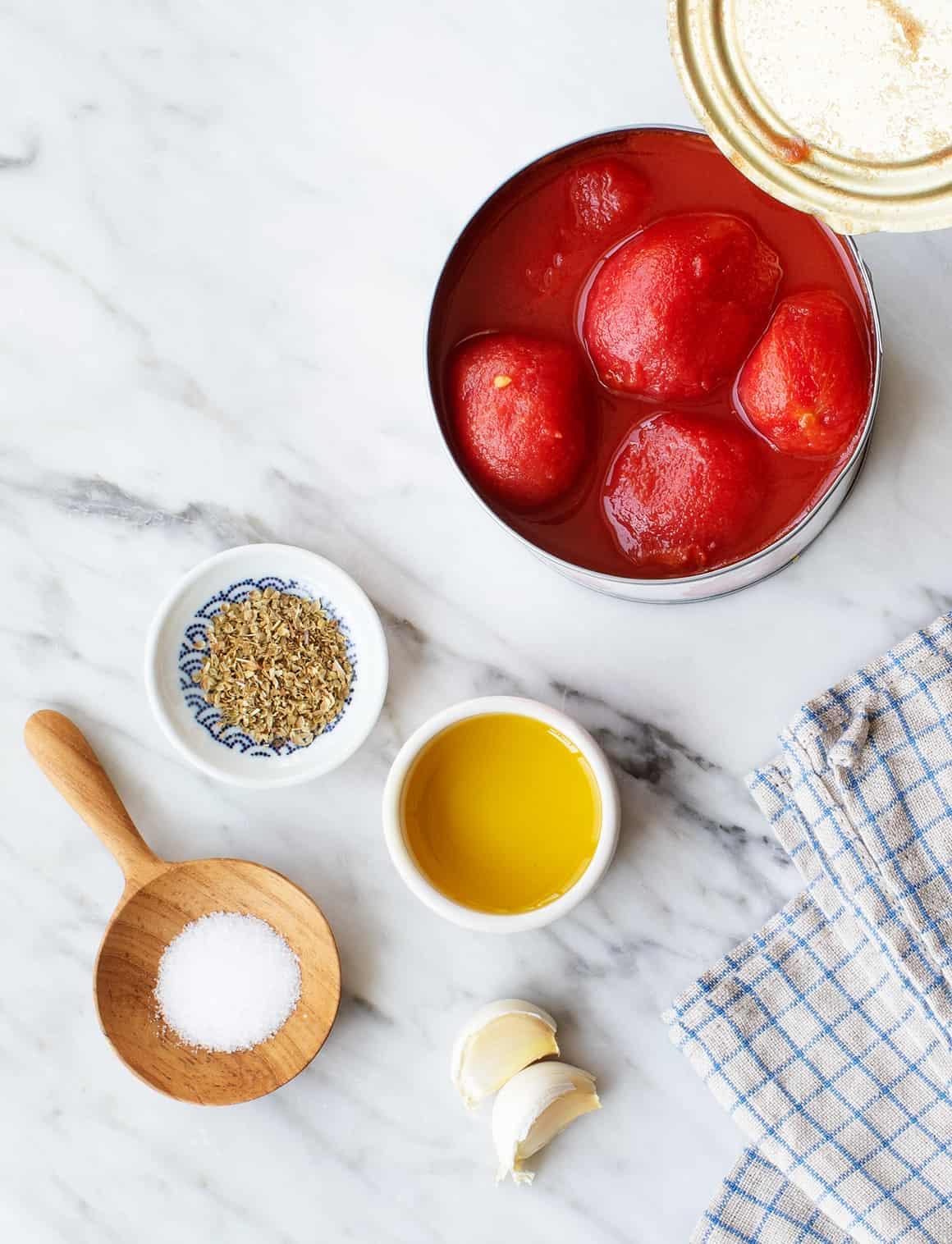 Pizza sauce recipe ingredients